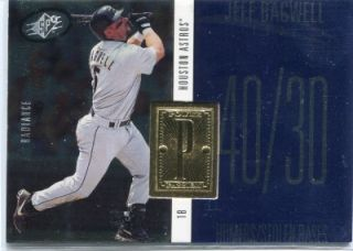 Jeff Bagwell 1998 SPx Finite Radiance Power and Passion 2810/3500 #234
