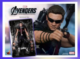 Hot Toys Marvel The Avengers Hawkeye Jeremy Renner 1 6 Figure