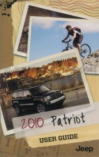 2010 Jeep Patriot Owners Manual DVD Package with Case User Guide Book