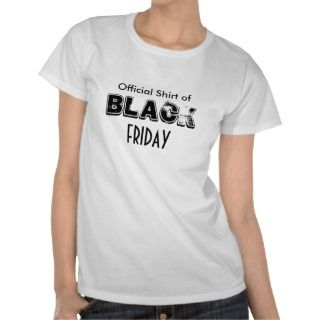 Official Shirt of Black Friday