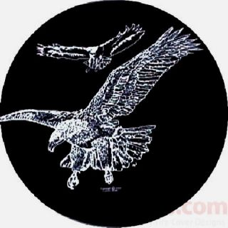 Flying Eagles Jeep Spare Tire Cover Trailer SUVs RV