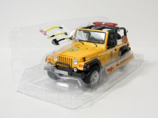 Jeep Wrangler Rubicon Brush Fire Unit Diecast Model Car   Maisto   1