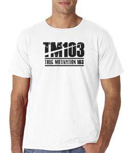 TM 103 Thug Motivation Logo Young Jeezy Da Snowman USDA Hip Hop Rap