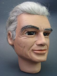 Gerry Anderson Thunderbirds Jeff Tracy Full Scale PLAIN RESIN Puppet