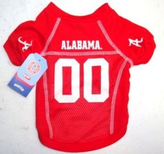 Alabama Crimson Tide NFL Pet Dog Jersey Shirt Small
