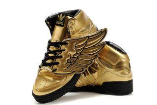 Adidas Jeremy Scott JS Wings Sz 8 12 Gold