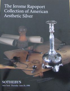 Sotheby's Jerome Rapoport Collection of American Aesthetic Silver