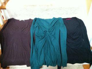 Lot of 3 Velvet Brand Long Sleeve Shirts Cute