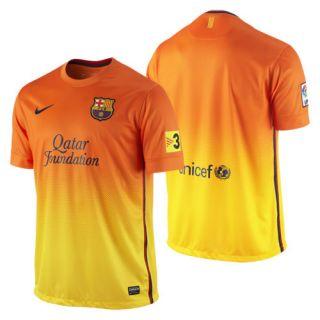 Season 2012 2013 Away Soccer Jersey Orange Yellow Brand New
