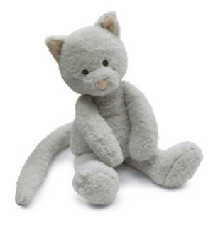 Jellycat Babbington Grey Kitty Cat Stuffed Animal Plush Toy Kitten