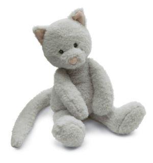 Jellycat Babbington Grey Kitty Cat Stuffed Animal Plush Toy Kitten