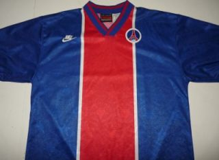 Vintage 1994 Nike Paris Saint Germain PSG Soccer Jersey Football Shirt