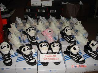 Adidas Originals JS Panda Bear White Black Jeremy Scott