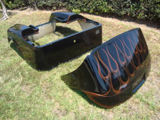 Yamaha G14 G16 G19 Custom Paint Front Rear Body Cowl Club Car EZ Go