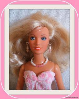 Handmade Custom Fashion Gown Jewelry 4 Hasbro Jem Doll Kenner Darci