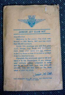 BOAC Junior Jet Club Log Book Vintage British Airways