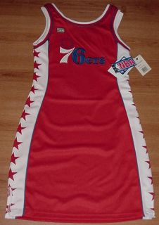 Philadelphia 76ers Jersey Dress Large Hardwood Classics