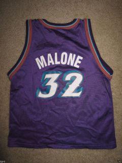 Karl Malone #32 Utah Jazz Purple Champion Jersey Toddler Boys M 5 6 5T