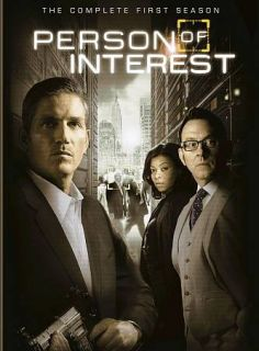 Person of Interest The Complete First Season (DVD, 2012, 6 Disc)New