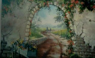 Jerry Yarnell TV DVD Flower Cart Landscape Acrylic Painting Video