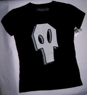 Zim Gaz skull t shirt key chain Jhonen Vasquez size S small 3 5 rare