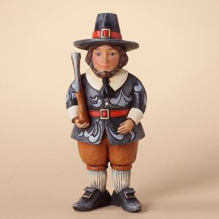 Jim Shore Heartwood Creek Fall Harvest Thanksgiving Pint Sized Pilgrim