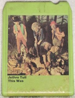 Jethro Tull This Was Vintage 8 Track Tape Stereo Music Cartridge