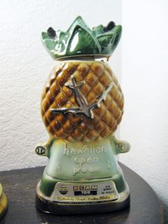 Jim Beam Collectible Decanter Hawaiian Open Golf Classic