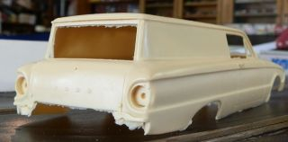 1961 FORD COURIER BODY JIMMY FLINTSTONE Resin Body Kit 1/24th   1/25th