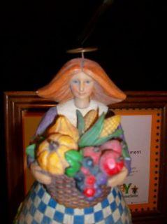 Jim Shore Thanksgiving Angel Harvest Fall Table Lamp Christmas