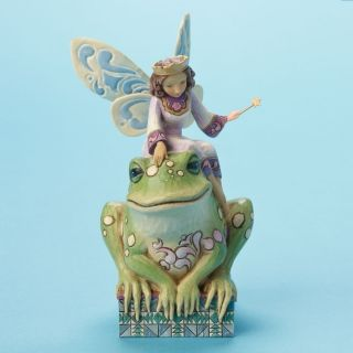 Jim Shore Heartwood Creek Princess Frog Fairy New NIB