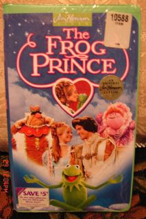 Jim Hensons The Frog Prince New in Factory Shrinkwrap Very RARE Find