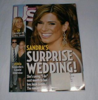 US MAGAZINE ~ June 27, 2005 ~ Sandra Bullock/Jesse James Wedding/Asst