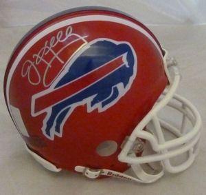 Jim Kelly Autographed Signed Buffalo Bills Mini Helmet w JSA