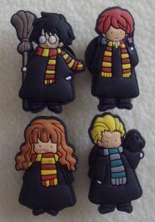 Harry Potter Wizards RARE Charms Fit Crocs Jibbitz
