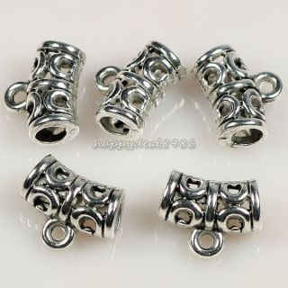 Tibetan Silver Tone Connectors Bails Jewelry Findings HJ30