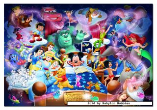 picture 1 of EDUCA 1000 pieces jigsaw puzzle Disney Family   Mickeys