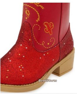 Toy Story Jessie Boots 4 Halloween Costume 7 8 9 10 11 12