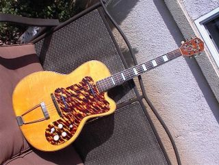1950s Kay Thin Twin Jimmy Reed Model Electric Guitar