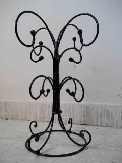 Iron Jewelry Display Stand Necklace Tree Holder 12 Hooks