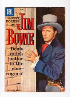 Dell Four Color 893 Jim Bowie Photo Cover