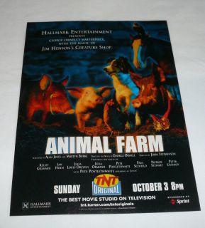 1999 TNT Ad Page Jim Henson Animal Farm