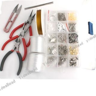 Set Jewelry Making Tools Pliers Scissors DIY Jewelry Accessories