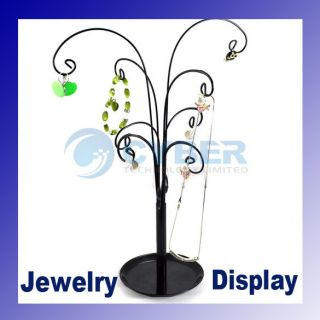 Jewelry Necklace Showcase Tree Stand Display Holder New