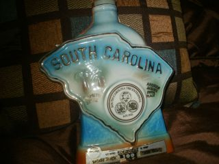 JIM BEAM 1970 SOUTH CAROLINA WHISKEY DECANTER F Regal China Carolina