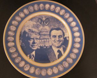 Jimmy Carter Commemorative Inauguration Plate Rosenthal