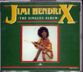 Jimi Hendrix The Singles Album 1987 Japan 2 CD P58P 20112 3 Very RARE