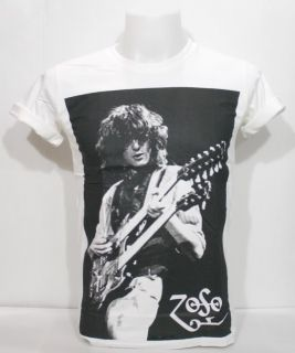 Jimmy Page Zoso Shirt LED Zeppelin Emo Heavy Metal Rock