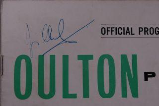 Jim Clark Signed Oulton Park Programme 1963