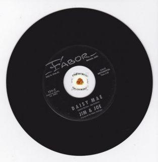 Hear Rockabilly Bopper 45 Jim Joe 2 Sider Fabor 124 James Burton Joe